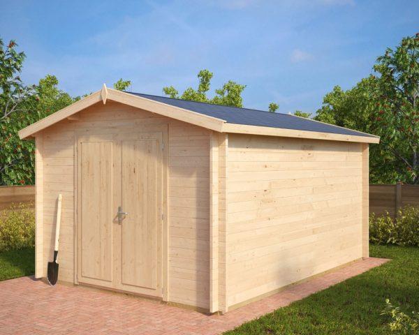 Cobertizo de madera Eva A 12m2 / 3x4m / 40mm