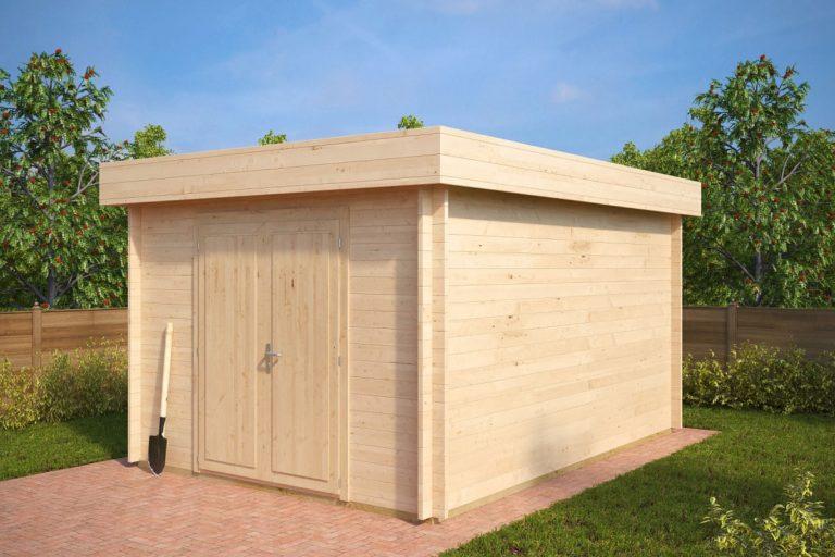 Cobertizo de madera 12m2 / 3x4m / 40mm