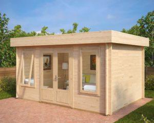 Caseta de jardín Jacob D 12m2 / 4x3m / 40mm