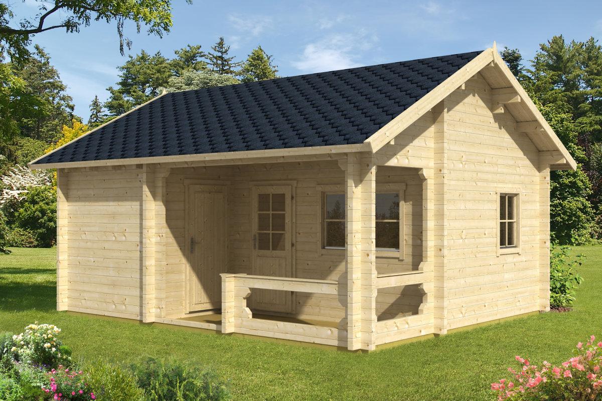sauna de jard n karina 26m2 6x5m 70mm casetas de jardin 24. Black Bedroom Furniture Sets. Home Design Ideas
