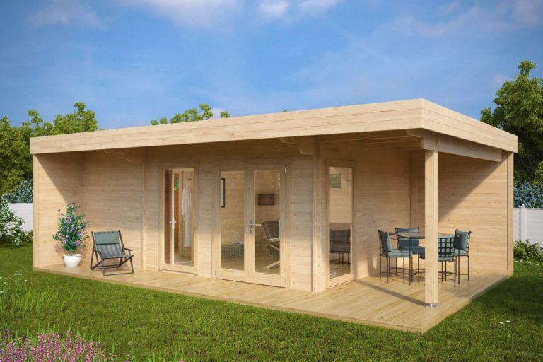 Sauna de exterior Hansa Lounge XXL