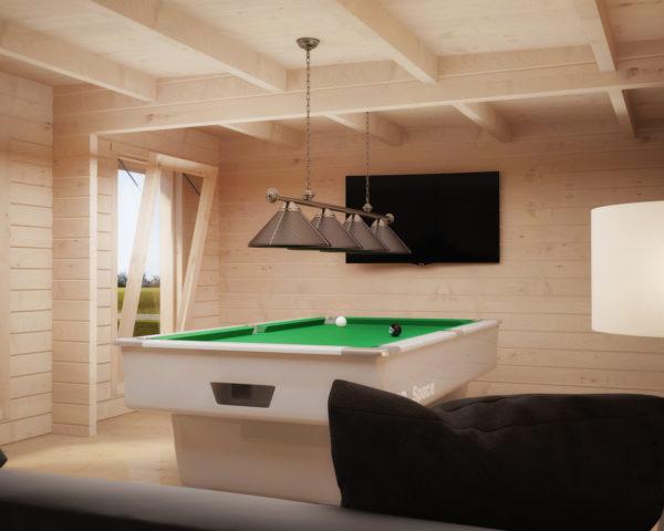 Caseta de jardín Hansa Lounge Deluxe