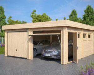 Garaje F puerta basculante Hörmann / 6x5m / 44mm