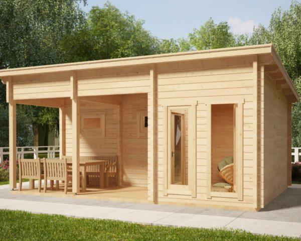 Sauna de exterior Oliver I