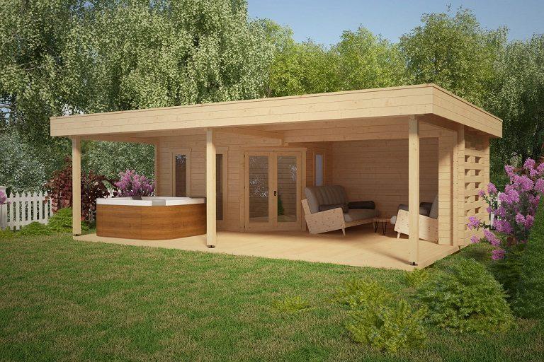 Magnífico porche de 8 x 6 m