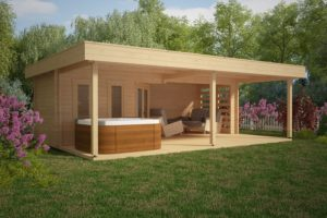 Gartenhaus Paradies A