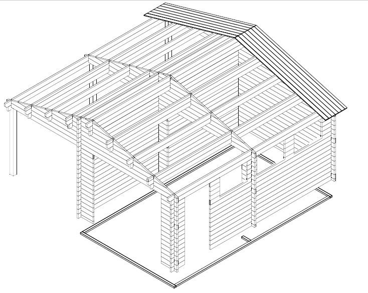 Garaje de madera G