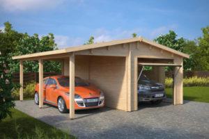 Garage G und B 3D