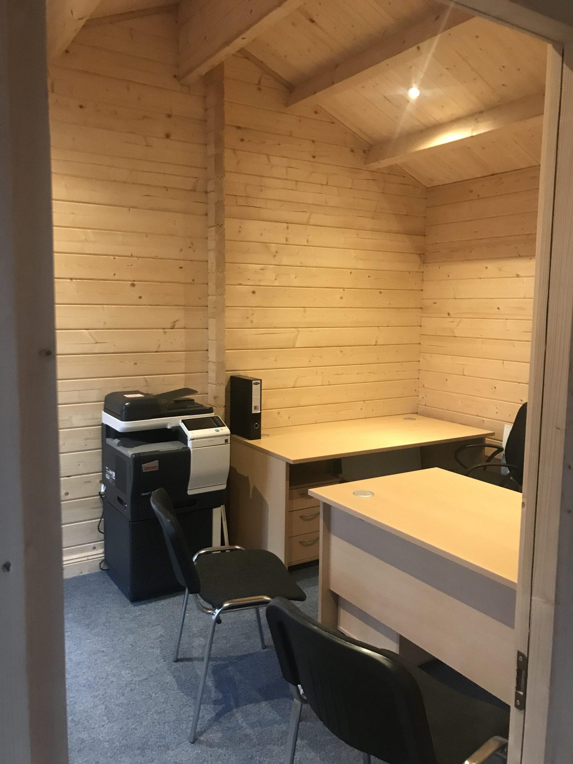 Large Garden Log Cabin The Hansa Office