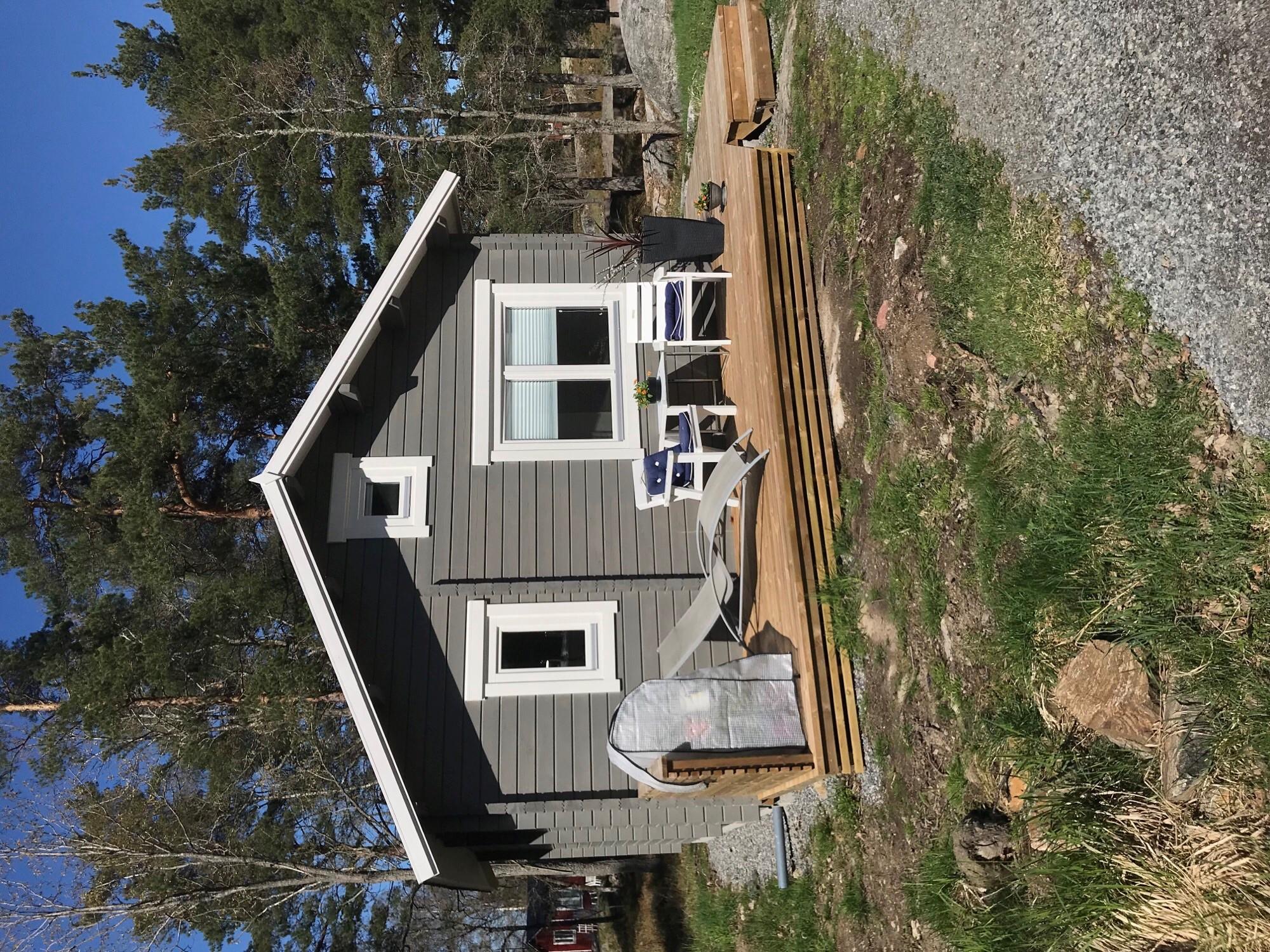 Casa de madera oklahoma 26m2 6x5m 70mm casetas de for Casas de madera shop