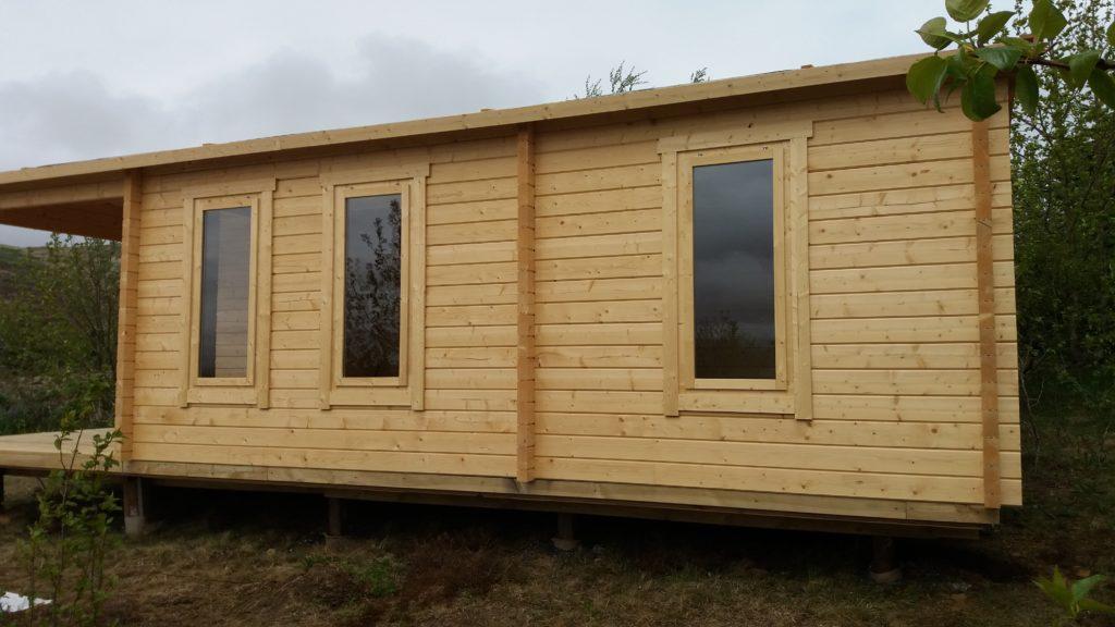 Vea nuestras casetas utilizadas como casas de alquiler vacacional en Islandia