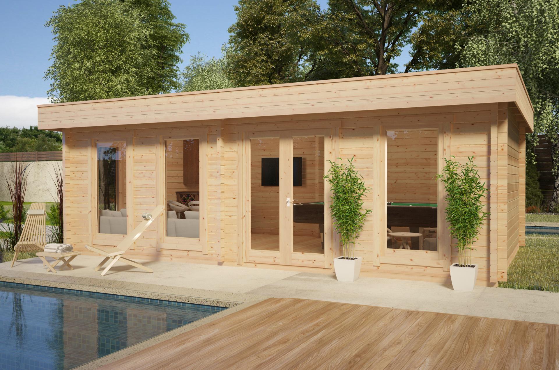 Caseta de jardín grande modelo E
