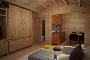 Log cabin Sweden A