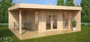 5 ideas de decoración para oficinas en casetas de jardín