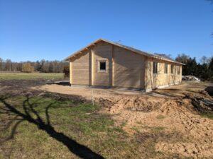 Casa de madera con tres dormitorios Holiday G